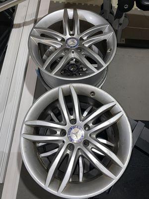 "Mercedes Benz sport wheel 17"" 5x112 bolt pattern for Sale in Plainfield, IL"