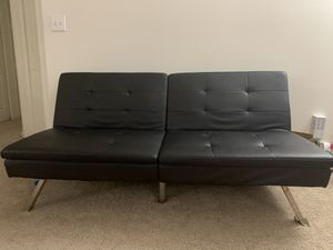 Leather Futon cum Bed for Sale in Indianapolis, IN