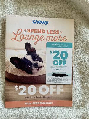 Chewy coupon for Sale in Villa Rica, GA