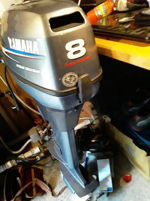 8hp Yamaha high thrust kicker motor for Sale in Tacoma, WA