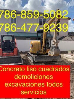 Excavadora Bobcat Mini Excavator And Volteo.)✅(((.demolition Servi ce.)))✅✅✅.!!!. for Sale in Miami,  FL