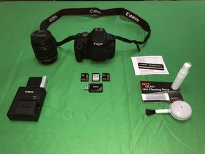 Canon EOS Rebel T7 with accessories for Sale in Bristol, CT