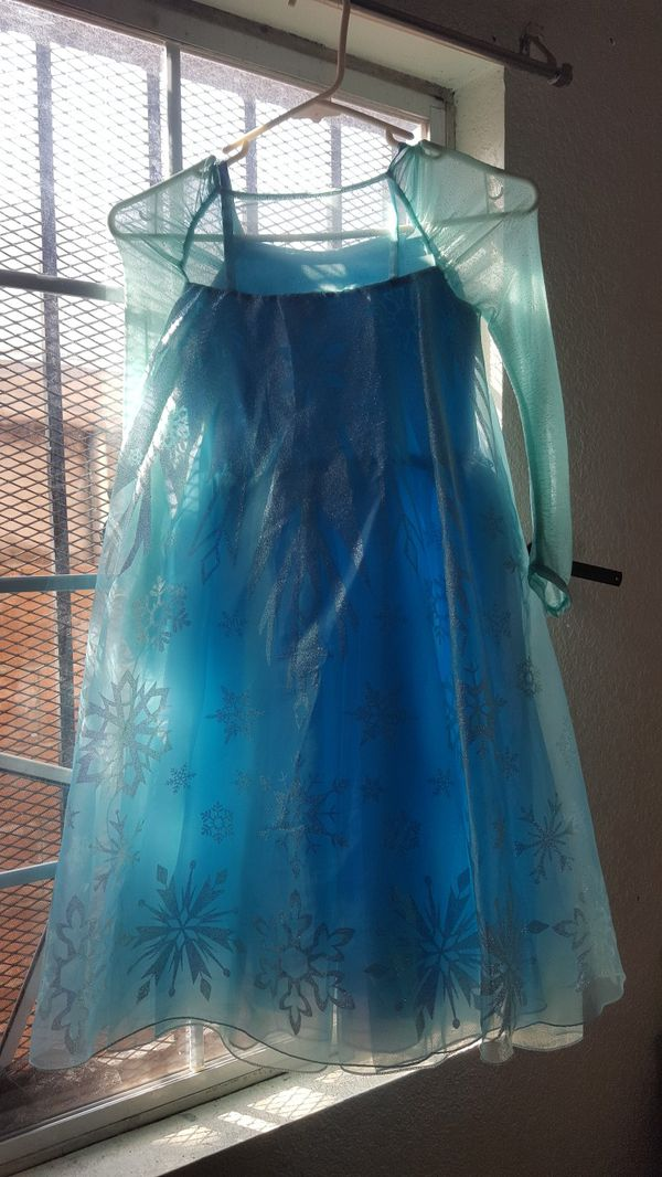 Elsa Frozen Disney Store dress child's costume