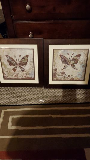 Butterflies pictures frames for Sale in Woonsocket, RI