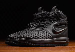 Nike Lunar Force 1 Duckboot - Mens Shoes Black/Black/Anthracite 7.5 for Sale in Chevy Chase, MD
