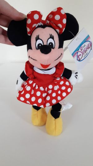 Brand New Disney Store Mini Bean Bag Minnie Mouse Mint Condition for Sale in Plainfield, IL
