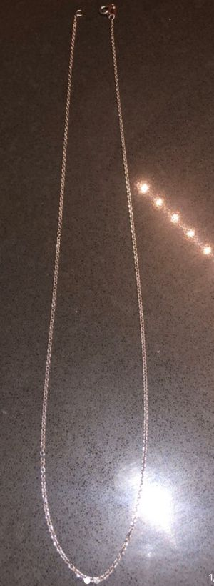 14k white gold chain for Sale in San Diego, CA