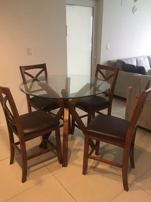 Counter top height kitchen table for Sale in Miami Beach, FL