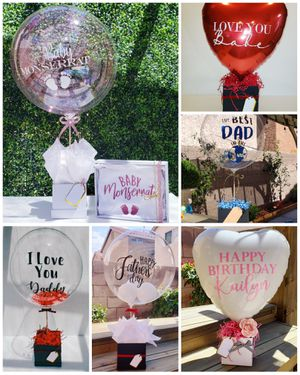 Balloon Arrangements/ Personalized Gift / Father's Day Gifts for Sale in Las Vegas, NV