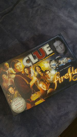 Firefly Clue board game for Sale in Vancouver, WA