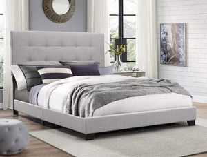 KING BED FRAME no mattress for Sale in Tempe, AZ