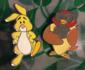 Disney Winnie the Pooh Owl Rabbit Pins for Sale in Riverside, CA