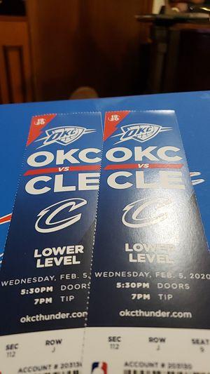Thunder vs CALAVERAS for Sale in Oklahoma City, OK