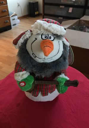 Animated snowman for Sale for sale  Clifton, NJ
