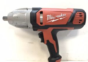 Milwaukee 1/2 in. Impact Wrench with Rocker Switch and Detent Pin Socket Retention for Sale in Bakersfield, CA