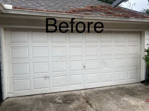 garage door short panel hollow 16x7 back.call me for more info. for Sale in Houston, TX