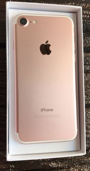 AT&T iPhone 7 256GB Unlocked for Sale in Orland, CA