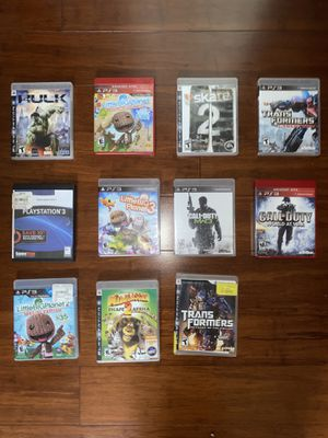 PS3 GAMES for Sale in Medley, FL