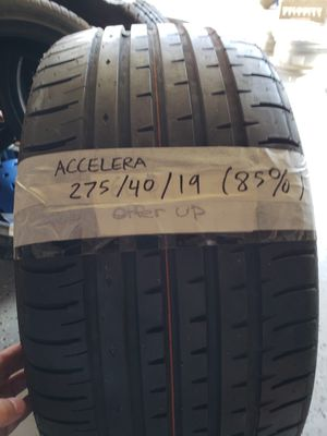 Accelera 275/40r/19 tire for Sale in San Diego, CA