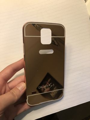 Rose Gold Samsung Galaxy s5 reflective phone case for Sale in East Wenatchee, WA