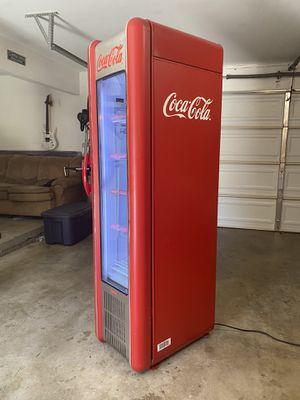 FRIGOGLASS COCA COLA RETRO FRIDGE COOLER REFRIGERATOR Monster Pepsi for Sale in Garden Grove, CA