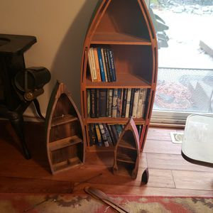 Boat Bookshelf Display Set for Sale in Bonney Lake, WA