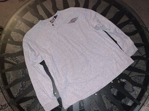 Authentic Harley Davidson Long Sleeve gray grey shirt for Sale in Worcester, MA