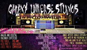 profesional recording studio get on your traclk and follow your dream with the live and lovely specials on your next studio session for Sale in Pasadena, TX