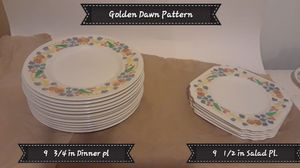 Golden Dawn china for Sale in Medford, OR