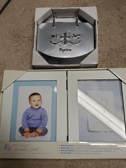 Baby Picture Frame And Book for Sale in Burlington,  MA