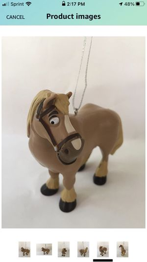"""Disney Beauty and the Beast 3.8"""" Philippe The Horse PVC Figure Holiday Christmas Tree Ornament Figurine Doll Toy for Sale in Farmington Hills, MI"""