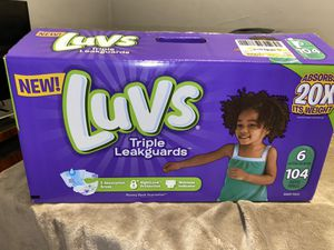 Luvs diapers for Sale in Bakersfield, CA