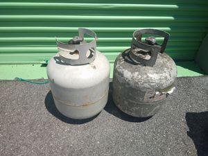 2 empty propane tanks for Sale in Tampa, FL