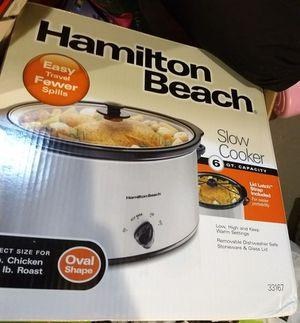 Hamilton Beach slow cooker. for Sale in Southfield, MI