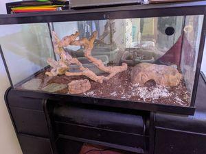 50 gallon tank reptile/fish for Sale in Nashville, TN