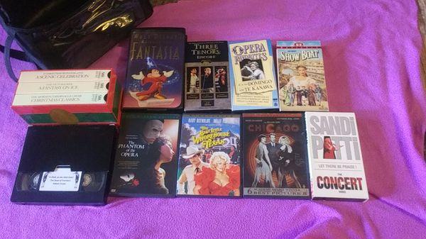VHS...dvd...
