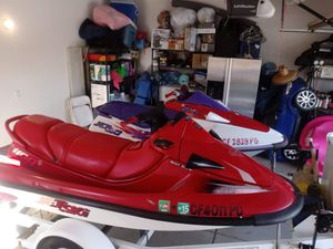 Calls only don't WASTE MY TIME..Kawasaki jet ski in very good condition..bring mechanic these jet skis are practically NEW for Sale in Ontario, CA