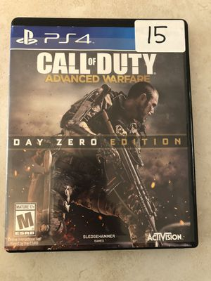 Ps4 / PlayStation 4 game call of duty advanced warfare for Sale in Phoenix, AZ