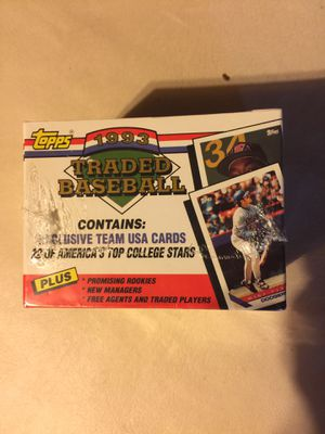 1993- Topps Traded. for Sale in Tulalip, WA