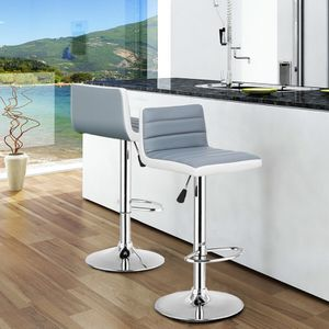 🔥Brand new item! Set of 2 Adjustable PU Leather Bar Stools for Sale in Los Angeles, CA