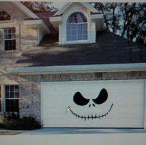 Jack frost Halloween garage door decal plus front door decor for Sale in Longview, WA