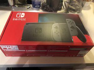 Nintendo switch grey joycon brand new version 2 for Sale in Bellevue, WA