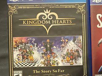 Ps4 Kingdom Hearts The Story So Far for Sale in Orange,  CA