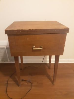 Antique sewing machine cabinet for Sale in Raleigh, NC