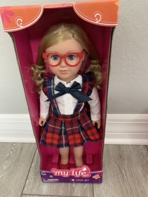 New in box doll like american girl doll for Sale in Naples, FL