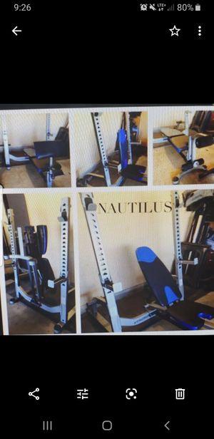 Olympic Weight Bench Space Saver for Sale in Claremont, CA