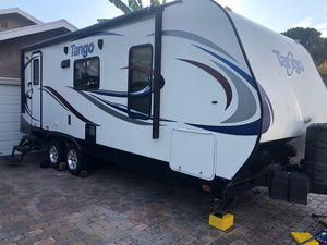Tango camping trailer with upgrades 2015 like new 24foot for Sale in Los Angeles, CA