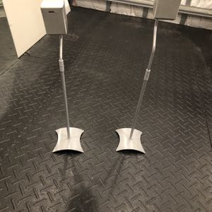 2 Sony Speakers With Stands for Sale in Fort Lauderdale, FL