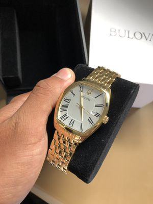 Bulova Men's Classic Ambassador Stainless Steel Watch for Sale in Hopewell, VA
