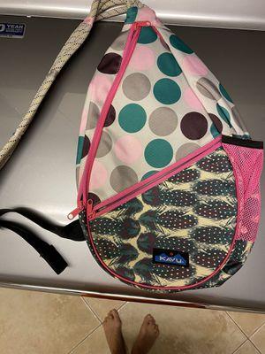Kavu Rope Sling Backpack Crossbody Shoulder Hiking Pink Green Gray for Sale in Largo, FL